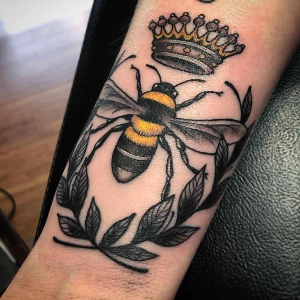 skeleton hand tattoo